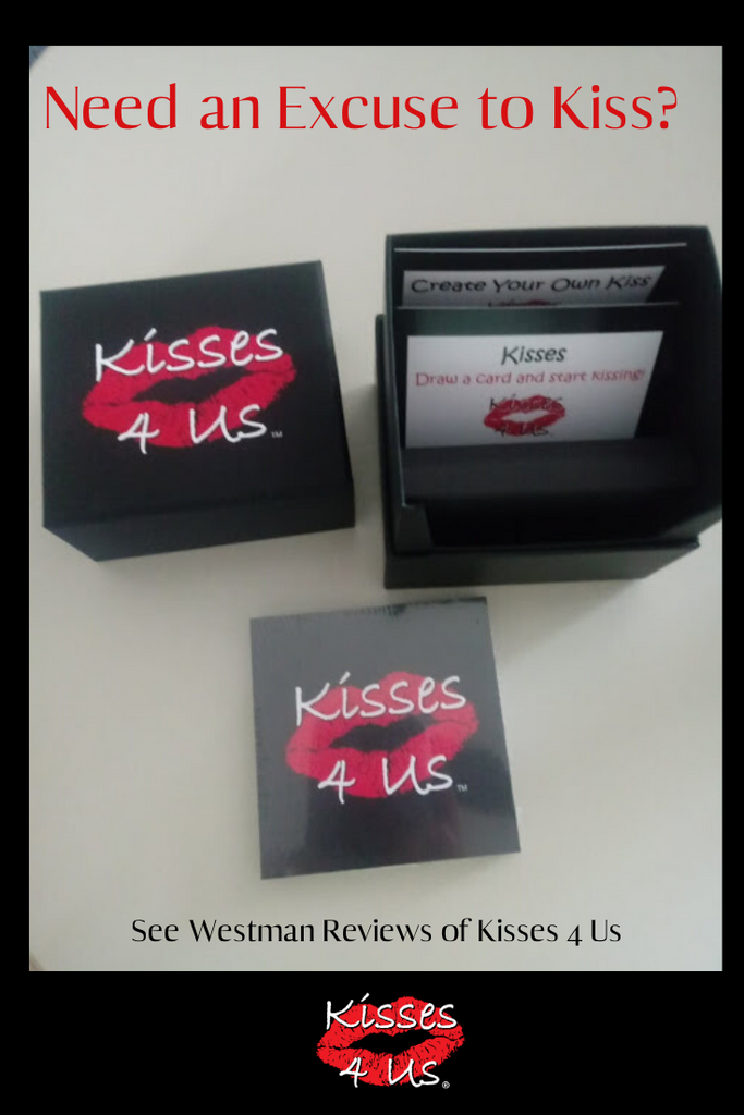 A Fun Kissing Game to Play with the one you Love!  A review from Westman Reviews