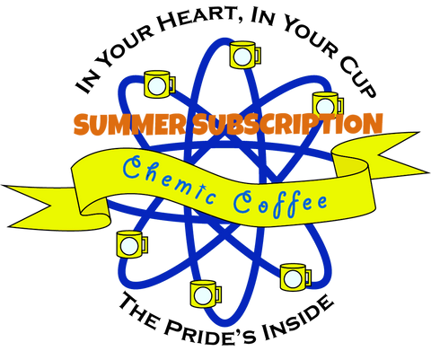 Chemic Coffee - 3 Month Summer Subscription - $13.95/month