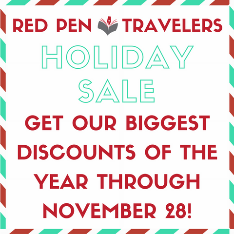 Red Pen Travelers 2016 Holiday Sale: Biggest Discounts of The Year