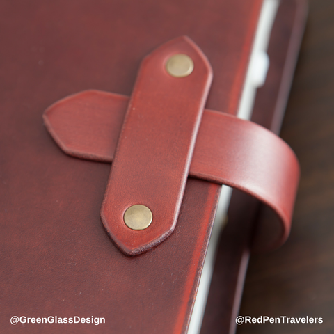 Add a Premium Closure Tab to Your Leather Traveler's Notebook