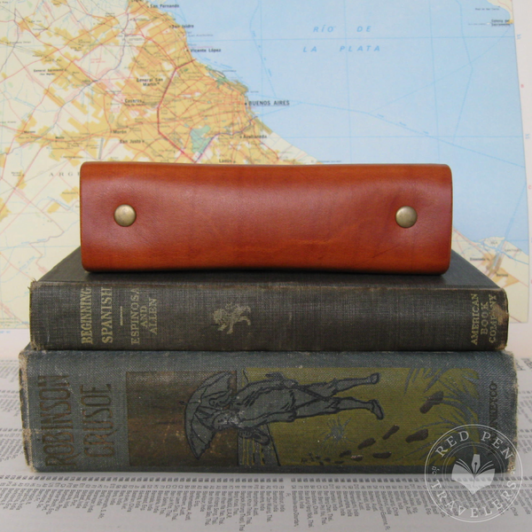 Add a Premium Reinforced Spine to Your Leather Traveler's Notebook