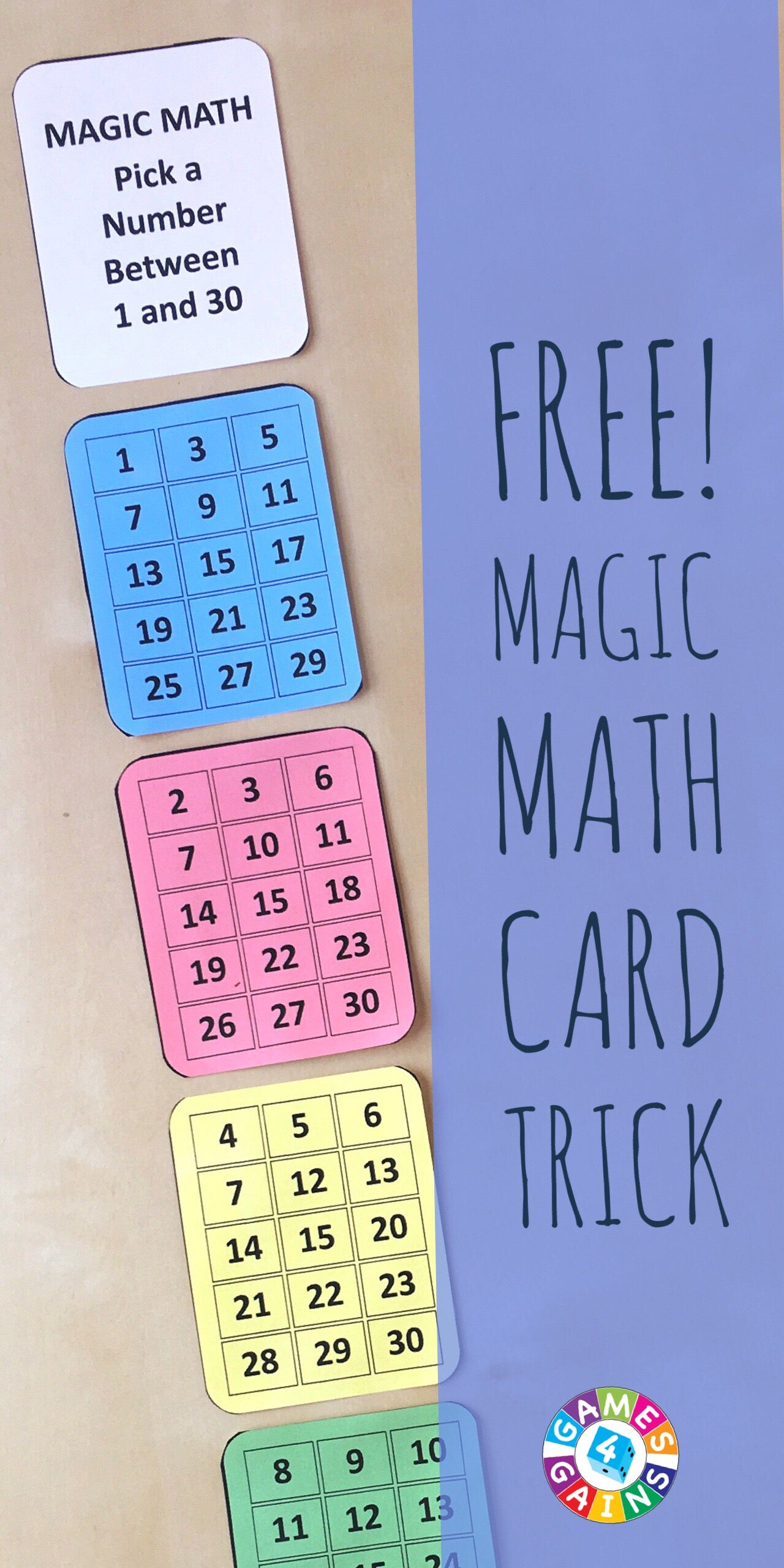 Amaze Your Students With This Math Magic Trick! – Games 4 Gains