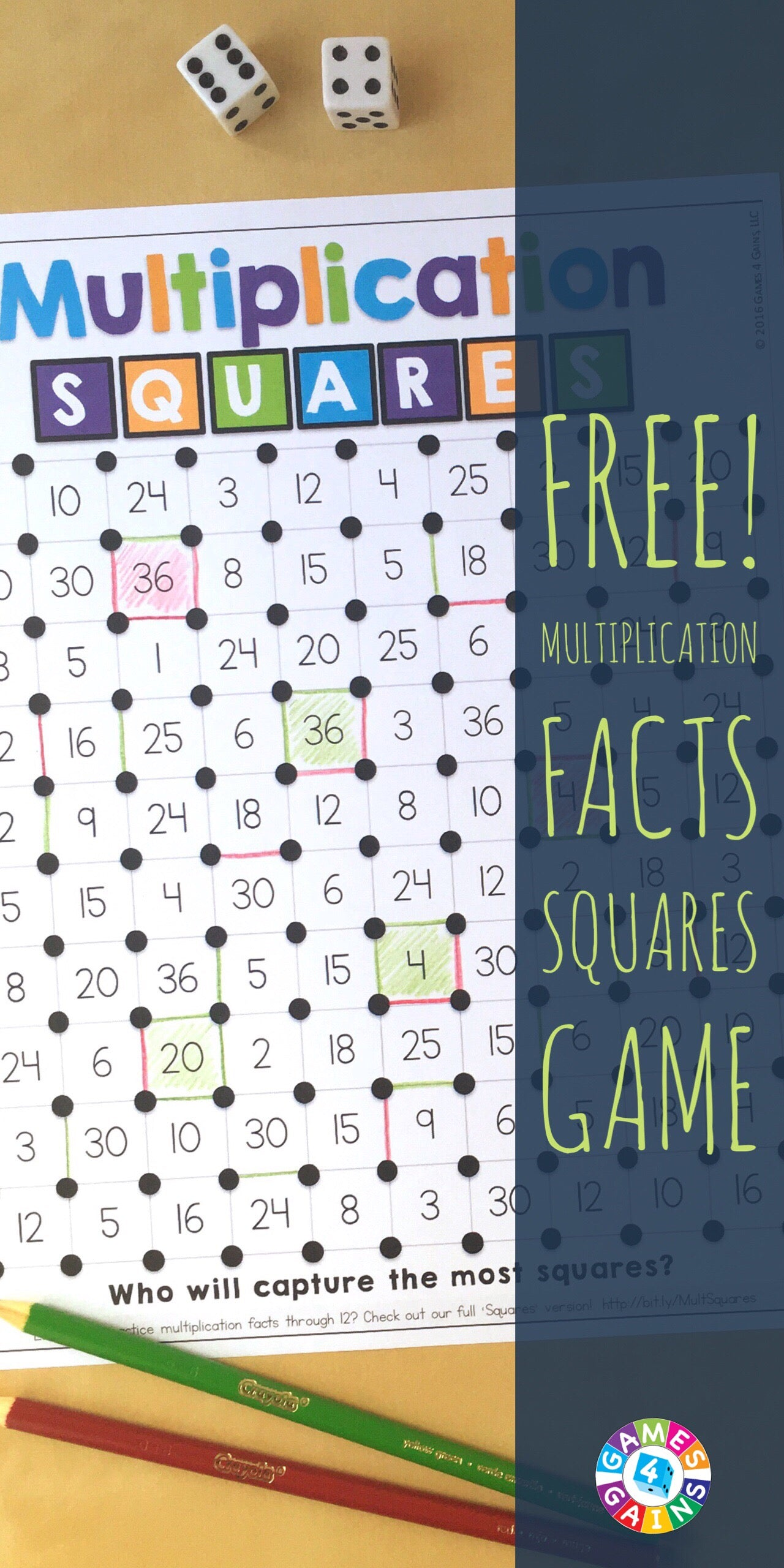 It is an image of Clever Multiplication Facts Games Printable