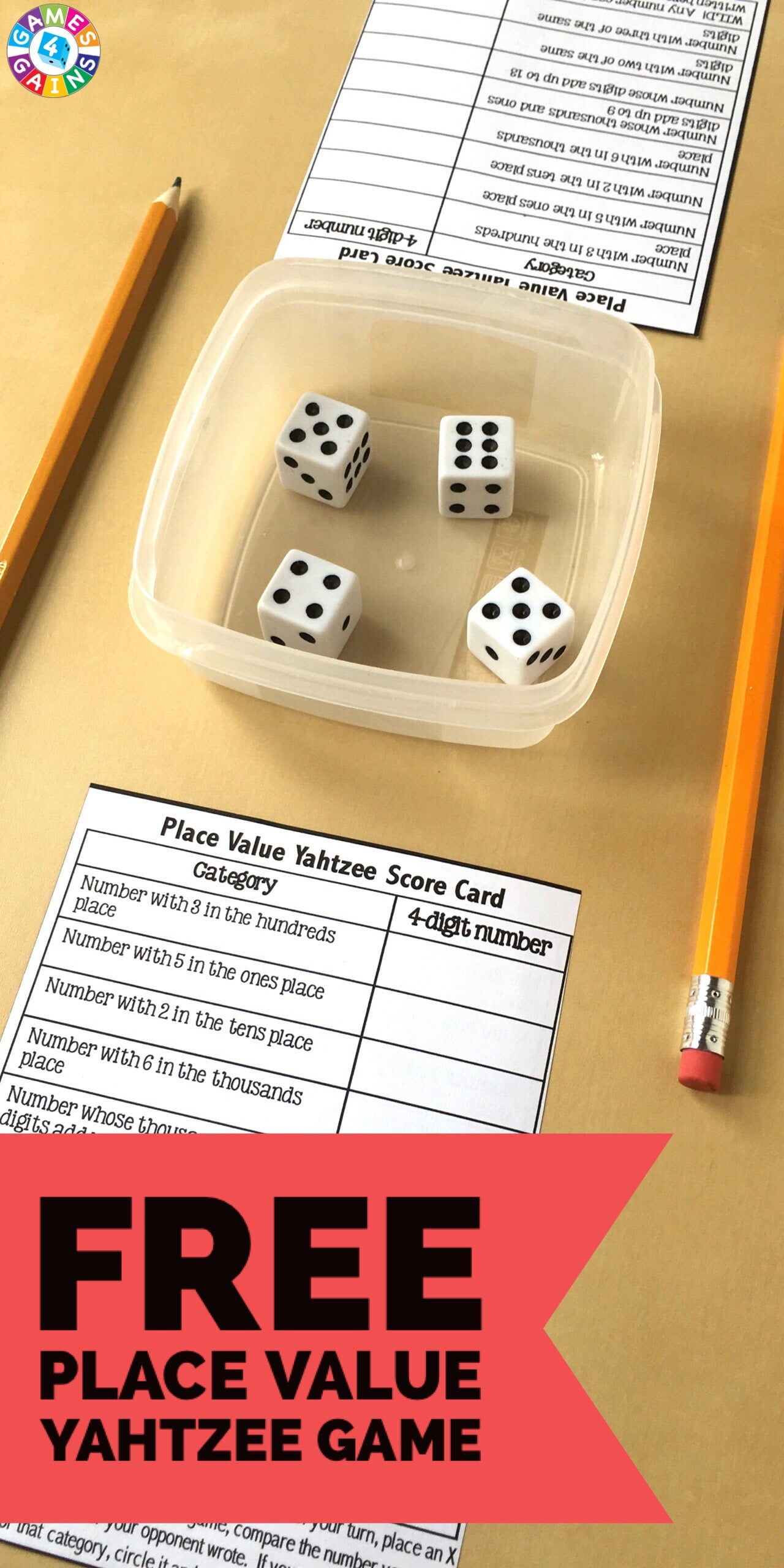 Free_Place_Value_Game  Ways To Do Math on ways to socialize, ways to listen, ways to tell time, ways to organize, ways to answer questions, ways to type, ways to text, ways to cook, ways to talk, ways to read, ways to solve problems, ways to draw, ways to spell words, ways to think, ways to dance,