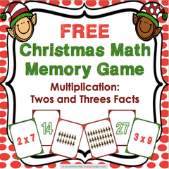 Free Christmas Multiplication Game