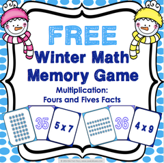 Free Winter Multiplication Game