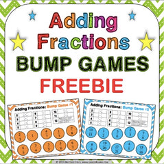 Free Adding Fractions Bump Games