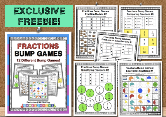 Free Fraction Bump Games