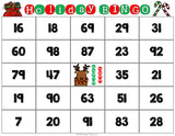 Christmas Math Bingo Game - 2nd Grade - Games 4 Gains  - 2