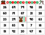 Christmas Math Bingo Game - 2nd Grade - Games 4 Gains  - 3