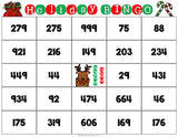 Christmas Math Bingo Game - 3rd Grade - Games 4 Gains  - 3