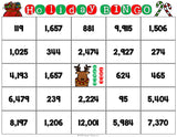 Christmas Math Bingo Game - 4th Grade - Games 4 Gains  - 2