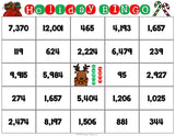 Christmas Math Bingo Game - 4th Grade - Games 4 Gains  - 3
