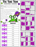 4th Grade Decimals Games Pack - Games 4 Gains  - 2