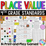 Place Value Games for 4th Grade