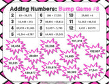Multi-Digit Addition Bump Games - Games 4 Gains  - 4