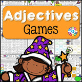 Adjectives Games - Games 4 Gains  - 1