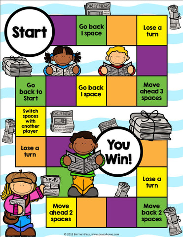 Author S Purpose Board Game Games 4 Gains Purpose games make it possible to create game strategies and apply them to other areas (such as the development of soft skills). author s purpose board game