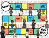 Black History Month Reading Comprehension Board Game - Games 4 Gains  - 2
