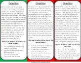 Christmas Reading Comprehension Board Game - Games 4 Gains  - 3