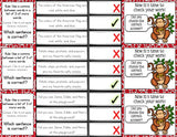 Commas 'Clip and Flip' Cards - Grades 2-3 - Games 4 Gains  - 2