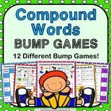 Compound Words Bump Games - Games 4 Gains  - 1