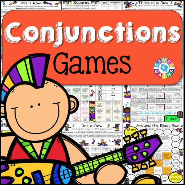 conjunctions games � games 4 gains