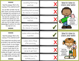Context Clues 'Clip and Flip' Cards (Grade 4-5) - Games 4 Gains  - 3