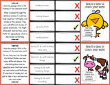 Context Clues 'Clip and Flip' Cards (Grade 2-3) - Games 4 Gains  - 2