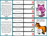 Context Clues 'Clip and Flip' Cards (Grade 2-3) - Games 4 Gains  - 3