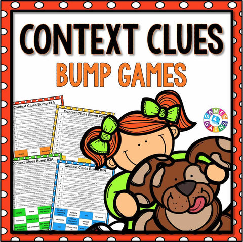 Context Clues Bump Games - Games 4 Gains  - 1