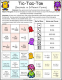 Decimals Games for 5th Grade - Games 4 Gains  - 2