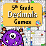 Decimals Games for 5th Grade - Games 4 Gains  - 1