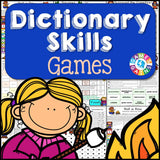 Dictionary Skills Games - Games 4 Gains  - 1