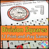 Division 'Squares' Game - Games 4 Gains  - 1
