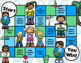 Earth Day Reading Comprehension Board Game - Games 4 Gains  - 2