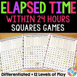 "Elapsed Time Within 24 Hours ""Squares"" Game - Games 4 Gains  - 1"