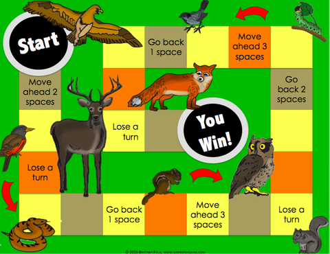 Food Chains And Food Webs Board Game Games 4 Gains