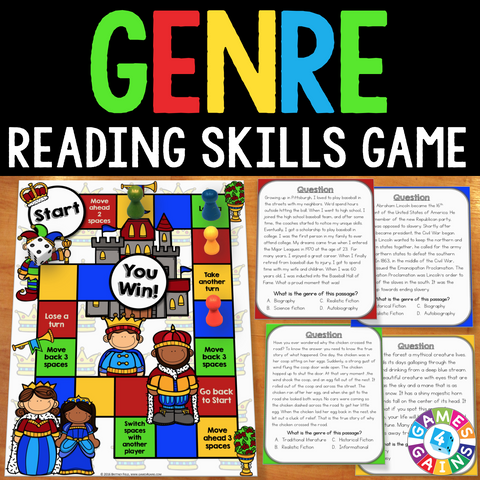 Genre Board Game - Games 4 Gains  - 1