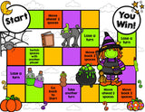 Halloween Reading Comprehension Board Game - Games 4 Gains  - 2