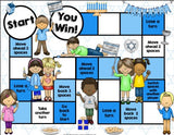 Hanukkah Reading Comprehension Board Game - Games 4 Gains  - 2