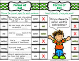 Irregular Verbs 'Clip and Flip' Cards - Games 4 Gains  - 3