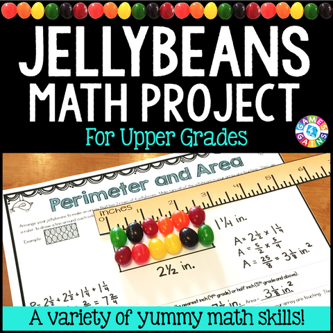 Jellybeans Math Project - Games 4 Gains  - 1