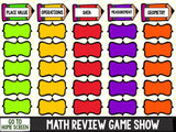 Jeopardy Math Review Game - 2nd Grade - Games 4 Gains  - 2