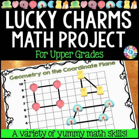 Lucky Charms Math Project - Games 4 Gains  - 1