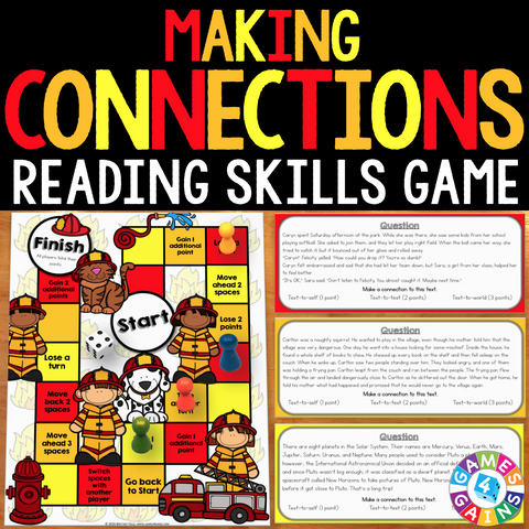 Making Connections Board Game - Games 4 Gains  - 1