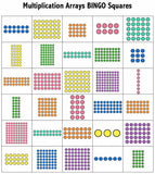 Math Bingo Games for 3rd Grade - Games 4 Gains  - 3