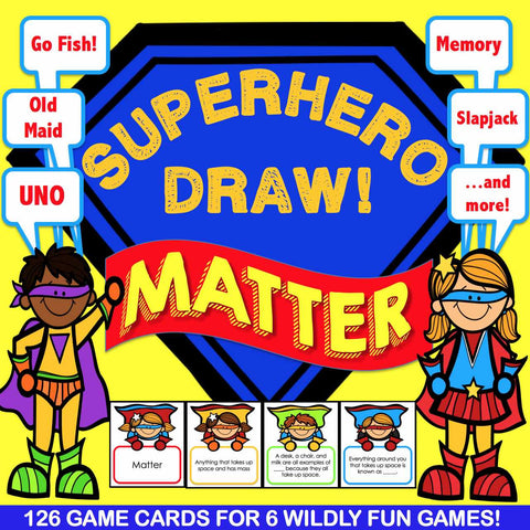 Matter 'Superhero Draw' Game - Games 4 Gains  - 1