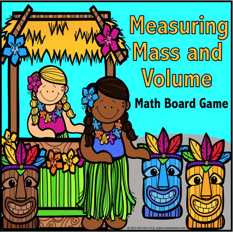 Measuring Mass and Volume Game - Games 4 Gains  - 1