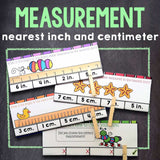 Measurement 'Clip and Flip' Cards - Games 4 Gains  - 1